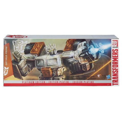 Transformers Optimus Prime Platinum Edition 2015 year of the goat