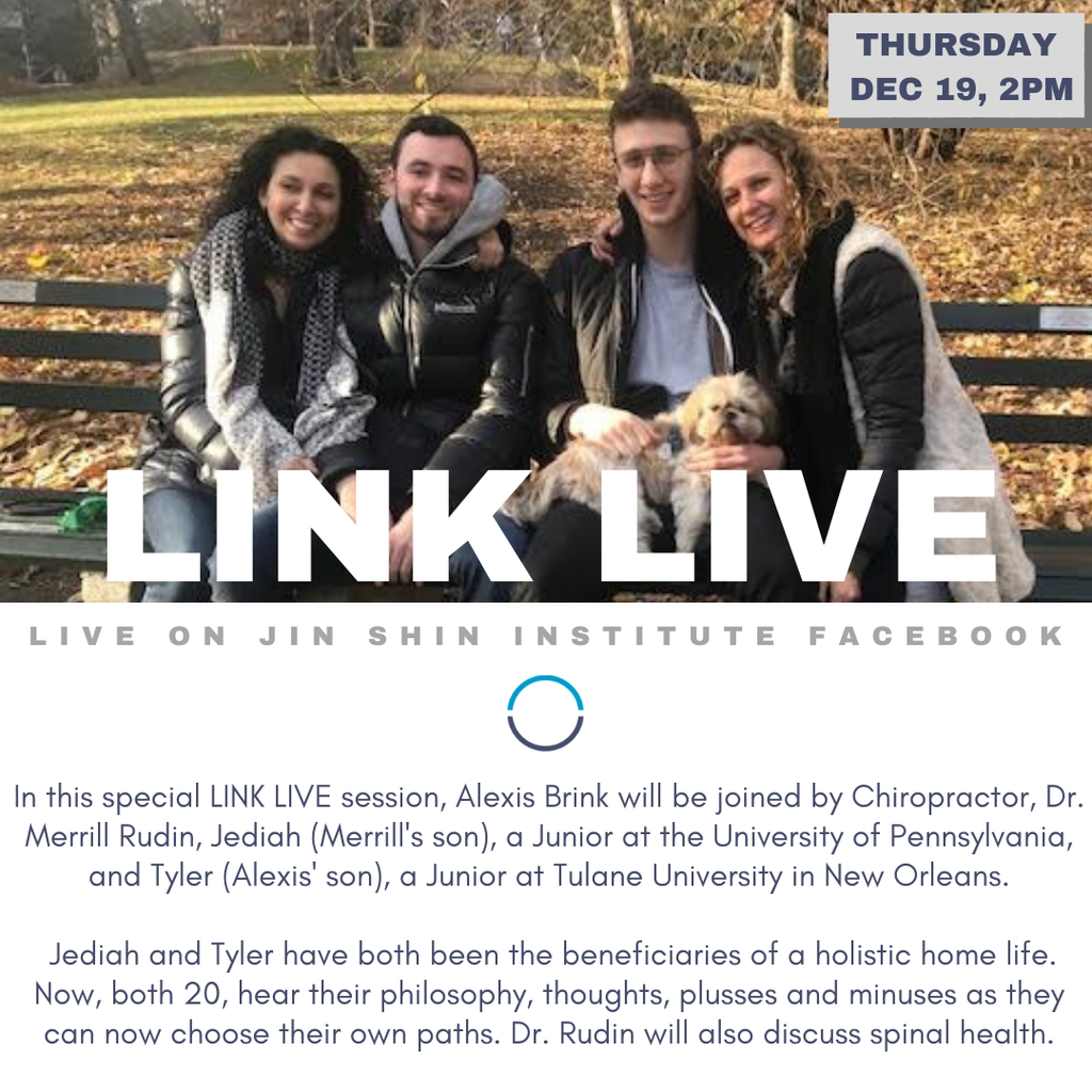 Link Live with Dr Merrill Rudin, Jediah and Tyler