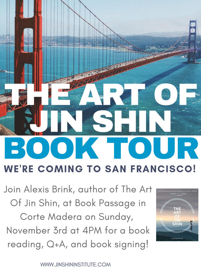 Art of Jin Shin Book Tour