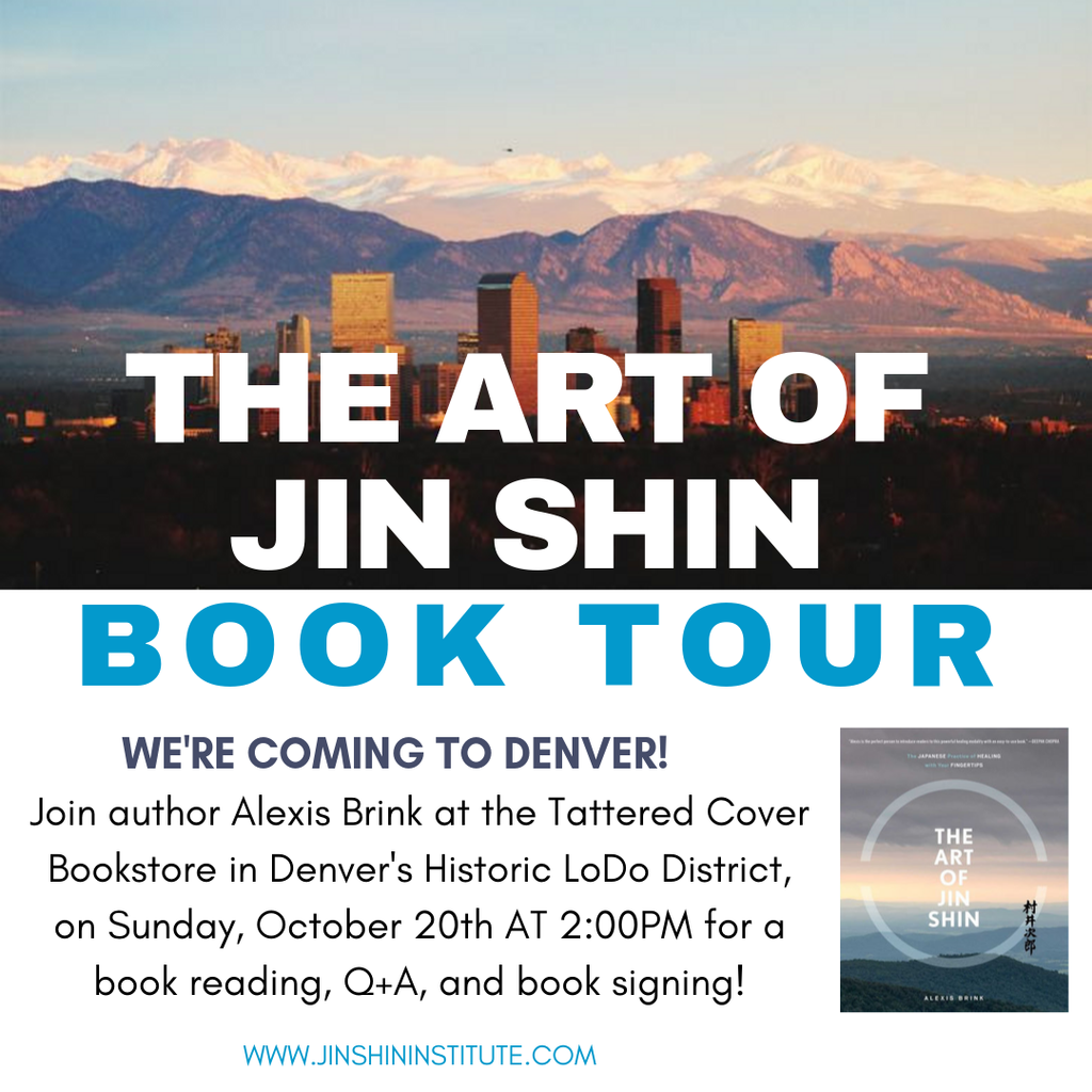 The Art of Jin Shin Book Tour