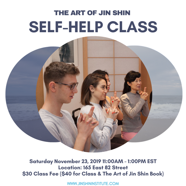 Two-Hour Art of Jin Shin Self-Help Class