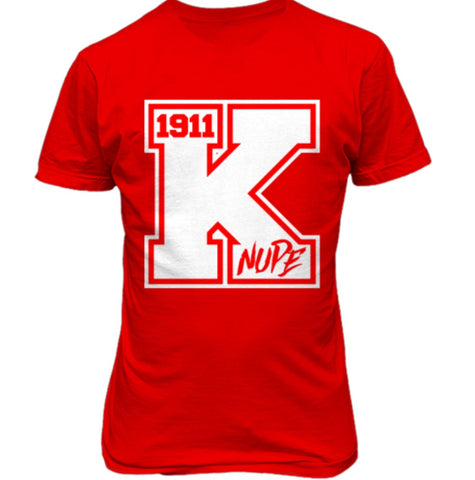 Kappa Alpha Psi Varsity Tee - Red