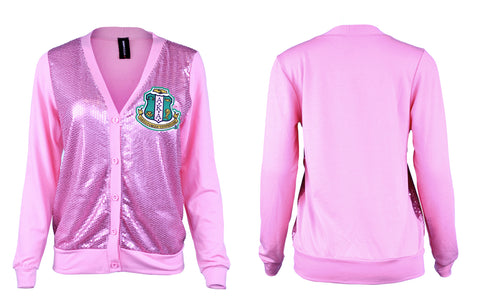 Alpha Kappa Alpha Sequence Cardigan