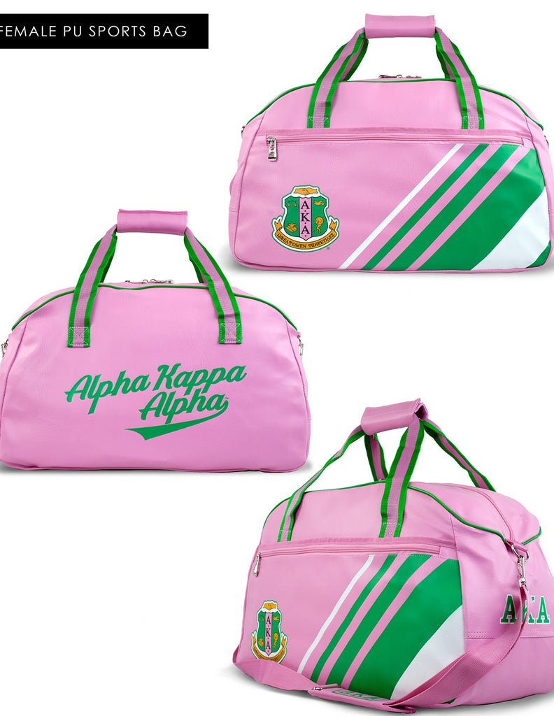 Alpha Kappa Alpha Sports Bag