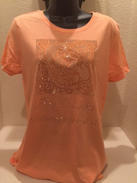 "The Society "" Bling Baby Doll Shirt"""