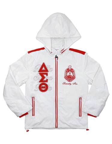 Delta  Sigma Theta  Light Weight Windbreaker Jacket