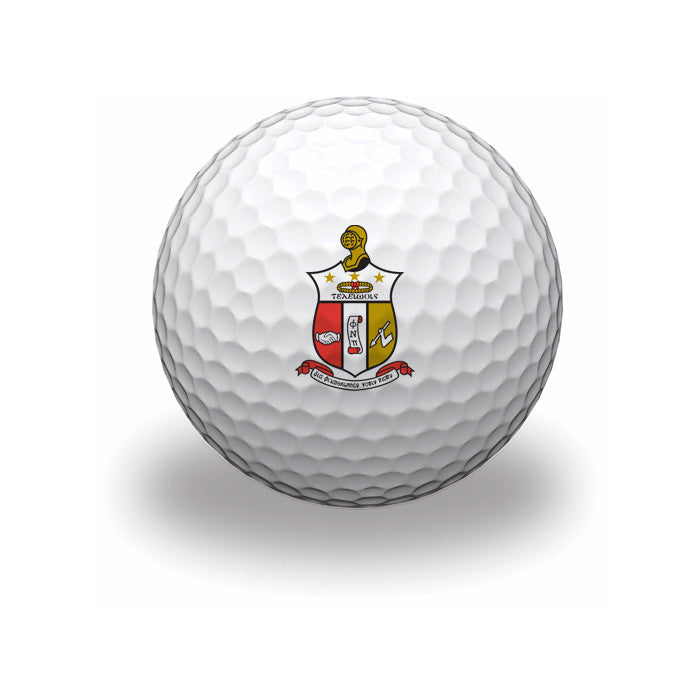 Kappa Alpha Psi Golf Balls (Set of 3)
