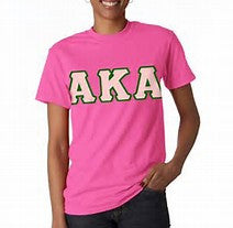 Alpha Kappa Alpha Lettered Shirt