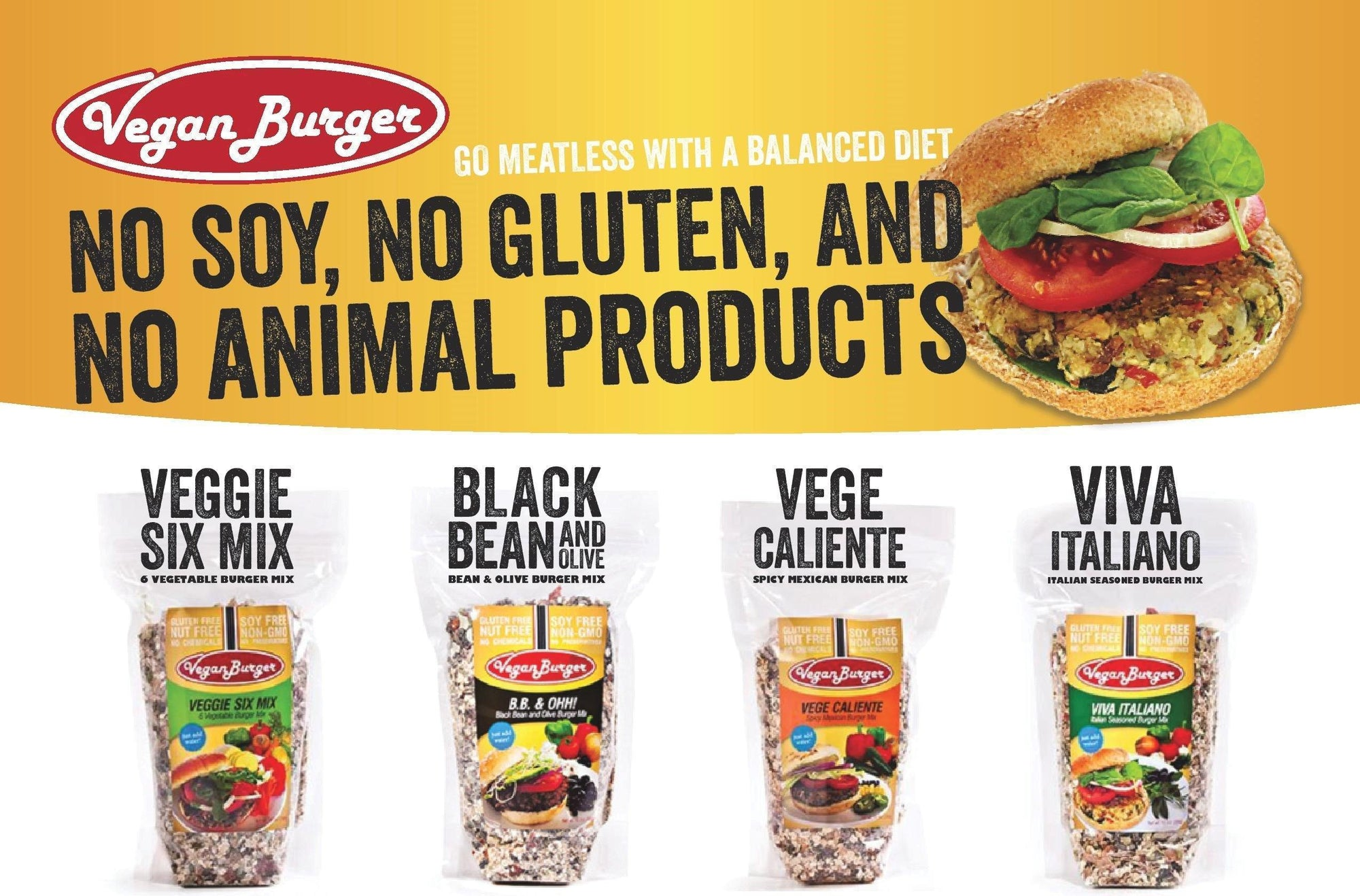 Why Buy Vegan Burgers from Kester Foods?