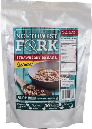 NorthWest Fork Gluten-Free 12 Month Emergency Food Supply