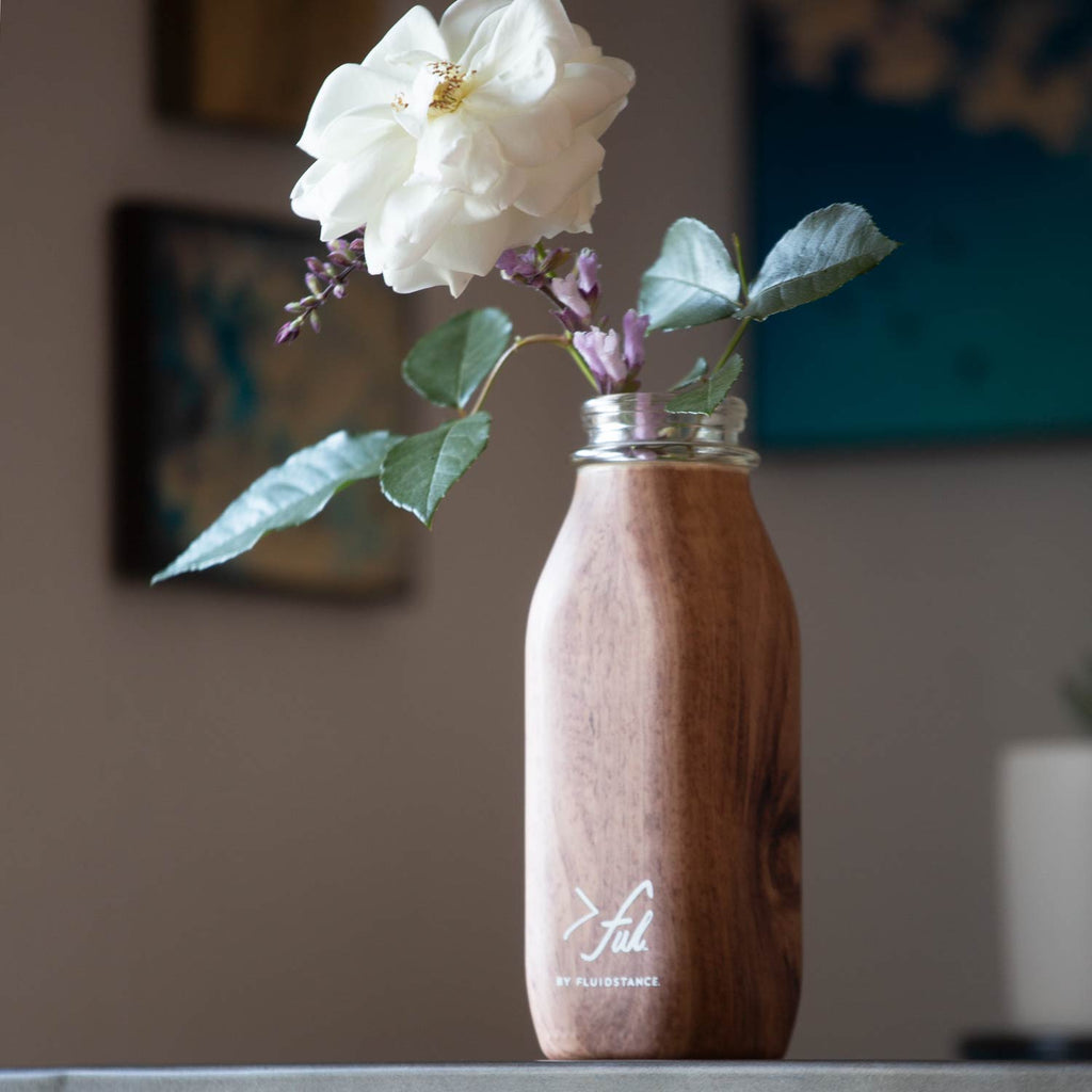 >ful glass flower vase