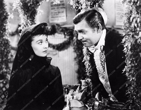 Vivian Leigh Clark Gable Gone With the Wind 252-05