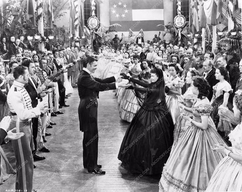 Vivian Leigh Clark Gable dance scene Gone With the Wind 252-06