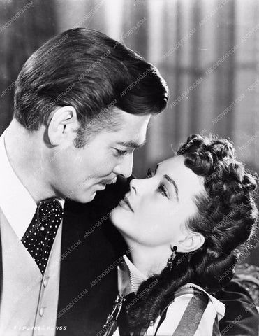 Vivian Leigh Clark Gable Gone With the Wind 252-07