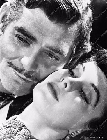 Vivian Leigh Clark Gable Gone With the Wind 252-10