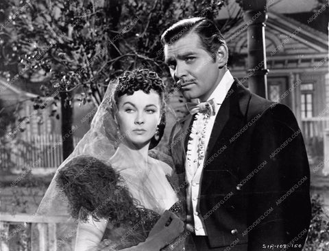 Vivian Leigh Clark Gable Gone With the Wind 252-11