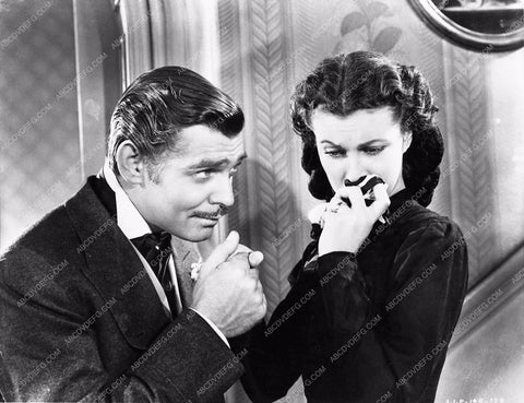Vivian Leigh Clark Gable Gone With the Wind 252-16