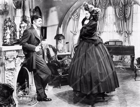 Vivian Leigh Clark Gable Gone With the Wind 252-17