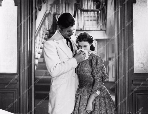 Vivian Leigh Clark Gable Gone With the Wind 252-19