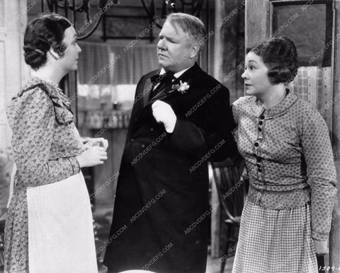 Zasu Pitts W.C. Fields Pauline Lord Mrs. Wiggs of the Cabbage Patch 1220-08