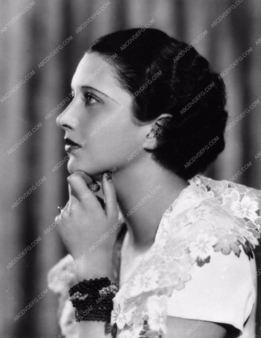 beautiful profile portrait of Kay Francis photo 1220-19