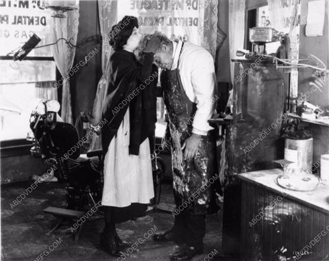 Zasu Pitts Gibson Gowland silent film Greed 1226-13