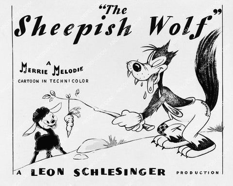 animated Merry Melody cartoon film The Sheepish Wolf 1525-22