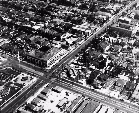 1925 Historic Los Angeles 4004 S. Figueroa Theatre aerial photo 1785-15