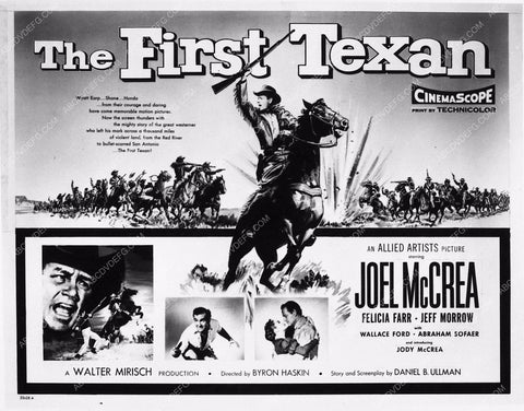 art still Joel McCrea The First Texan 2084-03