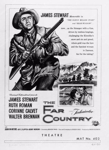 ad slick Jimmy Stewart The Far Country 2097-02