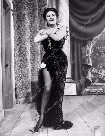 Yvonne De Carlo sexy showgirl outfit 2177-03