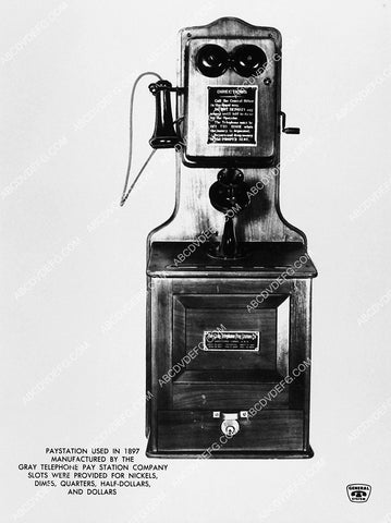 1897 pay telephone by Gray Telephone Pay Station Company 2373-05