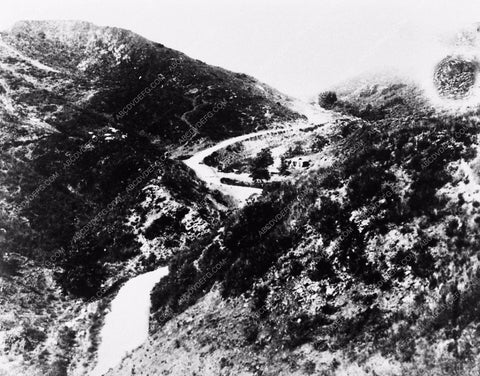 1897 historic Los Angeles Hollywood Cahuenga Pass looking north 2920-06