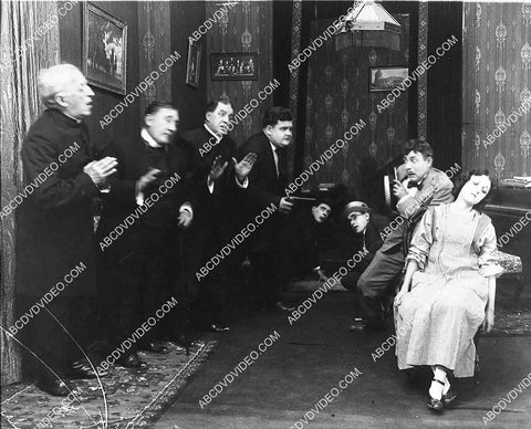 2926-004 Laurel Hardy and cast unidentified silent short subject 2926-004