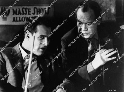2959-018 Paul Newman, Myron McCormick film The Hustler 2959-018
