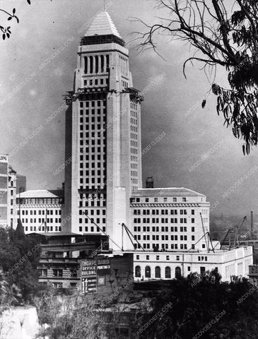 1928 Historic Los Angeles Hollywood City Hall building 3201-35