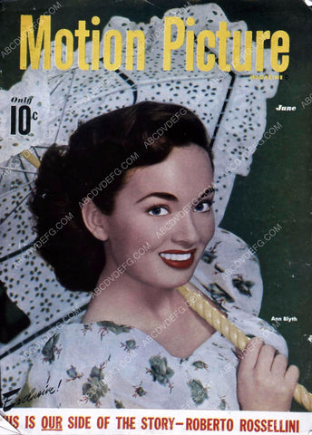 Ann Blyth Motion Picture magazine cover 35m-956