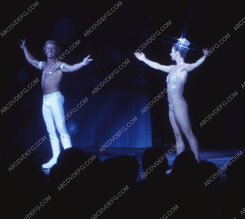 1970's era Las Vegas casino hotel dancers do show on ice skates 35m-10900