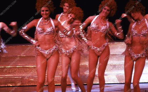 1970's era actual Las Vegas Hotel Follies Bergere dancers show 35m-10947