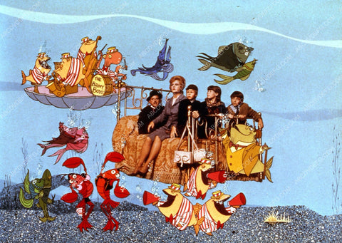 Angela Lansbury David Tomlinson and cast Bedknobs and Broomsticks 35m-11366