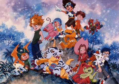 animated characters TV Digimon: Digital Monsters 35m-12290