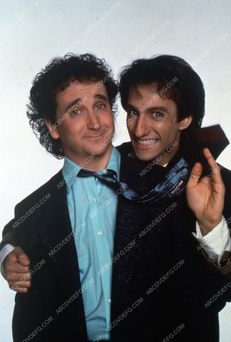 Bronson Pinchot Mark Linn-Baker TV Perfect Strangers 35m-3255