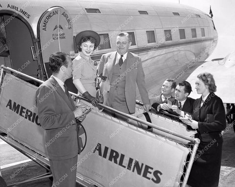1938 aviation American Airlines contest winner Miss O'Niel 4b09-269