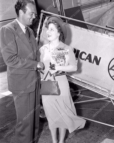 1938 aviation American Airlines contest winner Miss O'Niel 4b09-273