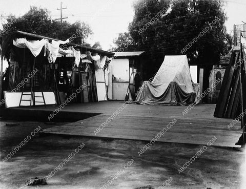 1912 historic Los Angeles Hollywood Century Studios outdoor sets 5416-10
