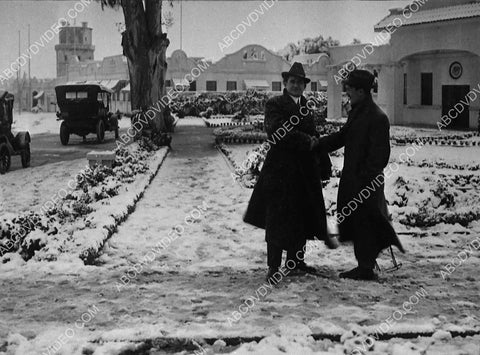 1915 historic Los Angeles Hollywood snow covered Universal Studios w Laemmle family members 5416-29