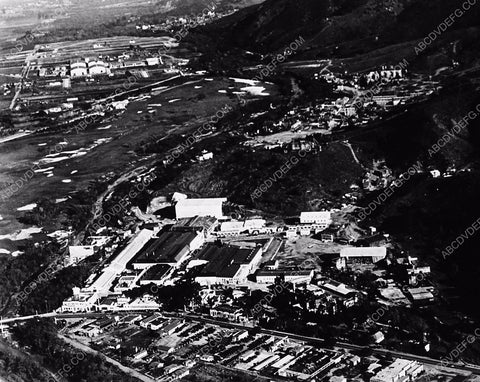 1936 historic Hollywood Los Angeles Universal Studios aerial shot 6315-15