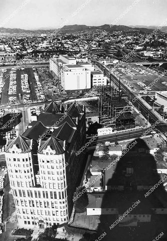 1960 historic Los Angeles Hall of Records city building 6851-025