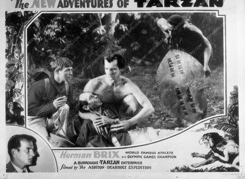 Bruce Bennett serial film The New Adventures of Tarzan 9057-11