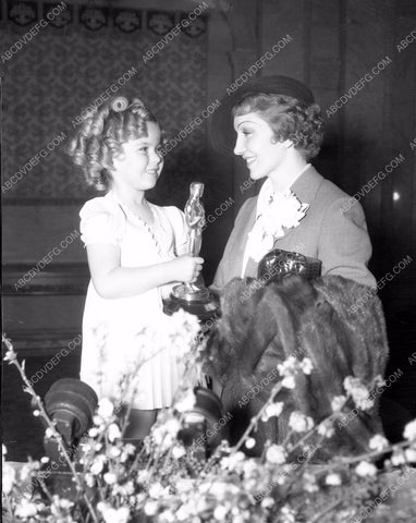 1935 Oscars Shirley Temple Claudette Colbert It Happened One Night aa1935-03